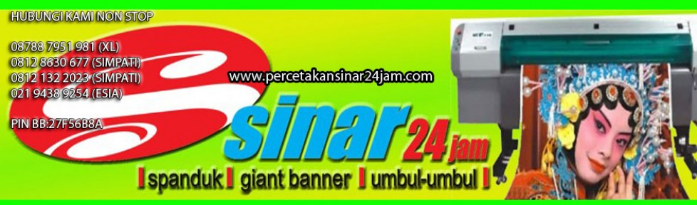 40+ Best Collections Contoh Banner Usaha Percetakan